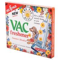2 x Vac Freshener 6 Pack Each For Pet Lovers Summer Meadow Hoover Vacuum Cleaner
