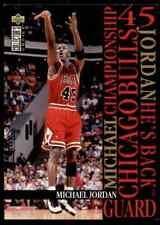 1995-96 Upper Deck CC Michael Jordan Bulls #M2 *Noles2148* 10=Fs Cs