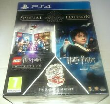 Lego Harry Potter Collection PS4 & Philosophers Stone Blu-Ray Wizarding World SE