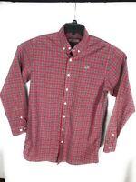 Vineyard Vines Mens Plaid Whale Shirt Long Sleeve Button Down Shirt XL