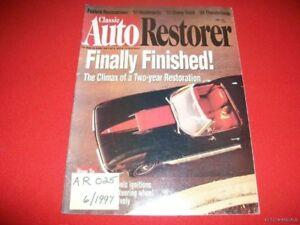 AUTO RESTORER - 1967 CHEVROLET CORVETTE FINISHED  6/97