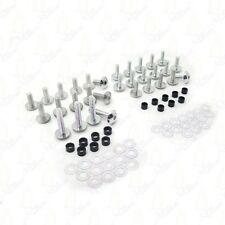 Silver Fairing Bolts Kit For 2000-2003 SUZUKI GSXR750 2001-2002 GSX-R1000
