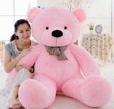140cm Giant Pink Teddy Bear Big Huge Kids Stuffed Animal Soft Plush Toy Gift