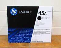HP 45A Q5945A Black Toner Print Cartridge Sealed