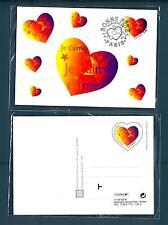 FRANCIA - 1999 - Cart. Post. - 3 FR - Cuore, auguri di buone feste