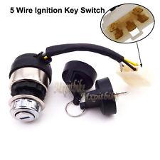 5 Wire On Off Ignition Key Switch Lock For Generator 186F 186FA 170F 178FA 178F