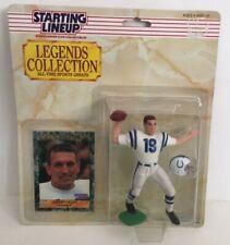 1989 Kenner Starting Lineup SLU Johnny Unitas Football Toy Figure Colts MOC