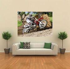 MOTOCROSS BIKE HONDA NEW GIANT LARGE ART PRINT POSTER PICTURE WALL X1373