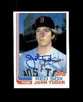 John Tudor Hand Signed 1982 Topps Boston Red Sox Autograph