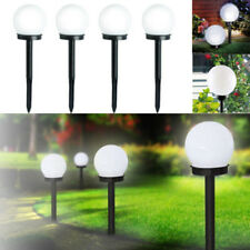 Set di 2 LED Solare Luce sferica, Lampione da giardino lampada rotonda