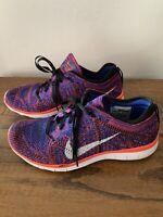 Women's Nike Free TR Flyknit Running Training Shoes 718785 002 Women's Size 7