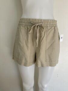 "Gap Pull On Utility Shorts with Washwell Relax Women's 3"" Shorts Khaki  NWT"