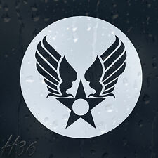 Army Star Military Wings Sign Car Decal Vinyl Sticker For Panel Bumper Window