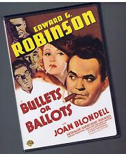 Bullets or Ballots  (DVD) Edward G. Robinson Near Mint