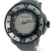 TENDENCE MEN G-52 52mm TITANIUM PRECISION QUARTZ POLY-U RUBBER 02103001
