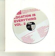 (DE187) Jade Tree, Location Is Everything Vol. 2 - 2004 DJ CD