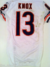 JOHNNY KNOX CHICAGO BEARS 2009 ROOKIE GAME USED JERSEY