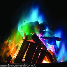 5 paks MYSTICAL FIRE campfire color packets display flames on wood fires burn