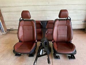 2015 2016 2017 FORD MUSTANG GT CONVERTIBLE BROWN / BLACK LEATHER SEATS CONSOLE
