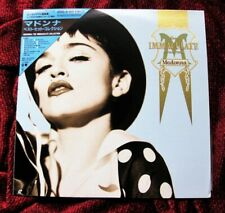 MADONNA IMMACULATE COLLECTION JAPAN LASERDISC ROYAL BOX VIDEOS MUSIC PROMO OBI