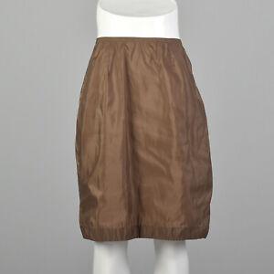 S 1960s Brown Half Slip Vintage Lingerie Silky Nylon 60s American Maid 60s VTG