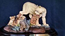 Mountain Lion/Cougar/Puma Family Figurine - by Encore Nib