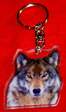 porte-cles loup 9 animals keychain llavero animales schlusselring tiere