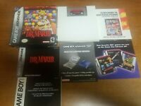 Dr. Mario Classic NES Series (Nintendo Game Boy Advance, 2004)(Complete)(Tested)