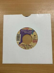 """1991 PRINCE """"GETT OFF / HORNY TOAD"""" 7"""" SINGLE 45rpm VINYL PAISLEY PARK RECORD"""