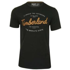Timberland Seasonal Graphic T-Shirt - Black - RRP £30