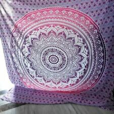 Indian Ombre Mandala Beach Throw Hippie Tapestry Bohemian Wall Hanging Decor Art