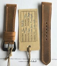 26mm strap for Panerai (The Pallido by Emre Leather Works)
