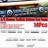 14 Lüftung Klima Bedienteil AC Heizung Schalter Knopf Taste für BMW F10 F01