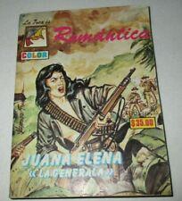 ROMANTICA comic FOCA LA GENERALA revolutionary woman MEXICAN REVOLUTION adelita