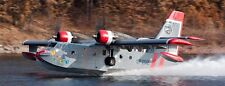Expendables 2 CL-215 Canadair Airplane Wood Model Replica Small Free Shipping