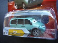 DISNEY PIXAR CARS * CHASE * VAN WITH STICKERS NO STICKERS EYES CHANGE NS SAVE 5%