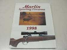 1998 Marlin Sporting Firearms Rifles Guns Catalog ~ 31 Pages