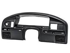 1994-97 Ford F250 F350 Diesel Black Dashboard Instrument Cluster Panel Bezel OEM
