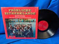 Rudi Knabl LP Frohliche Zitherklange Fiesta FLPS 1862 German Polka NM-