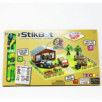 StikBot Farm Movie Set Stop Motion Animation Kit Create Animate Share Activity