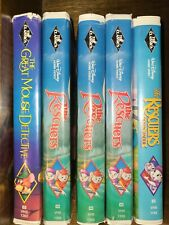 The rescuers Disney classic VHS