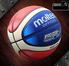 Molten GP76 7 PU Men's Basketball In/Outdoor Standard Training Ball w/Bag & Pin