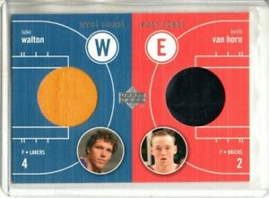 2003-04 UPPER DECK LUKE WALTON & KEITH VAN HORN WARM UPS (NM/MT) *