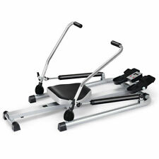 Fitness Home Gym Rowing Machine Rower w/Adjustable Double Hydraulic Resistance