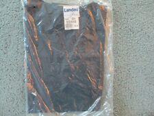 NWT, LANDAU Size XLG Dark/Navy Blue V-Neck Scrub Top