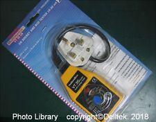 Chauvin Arnoux Metrix VT35UK Socket & disjoncteur RCD Tester 1 an de garantie