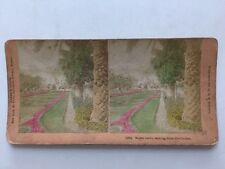Stereo-view Stereoscopic Card: Kilburn: Monte Carlo, Casino: Coloured Tinted