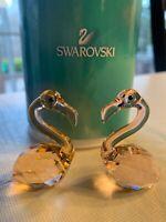 Swarovski Flamingo Pair Crystal In Love Claude and Claudine