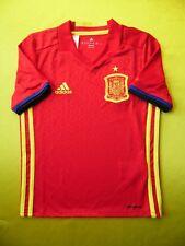 5240eb714 4.9 5 España Hogar Camiseta De Fútbol 2015 ~ 2016 7-8 años Niños Adidas  AA0850 Original