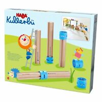 Haba Kullerbü Kugelbahn Ergänzungsset Hohe Säulen | Spielbahn Zubhör ab 2 Jahre